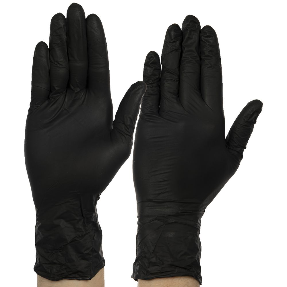 nitrile gloves bunnings