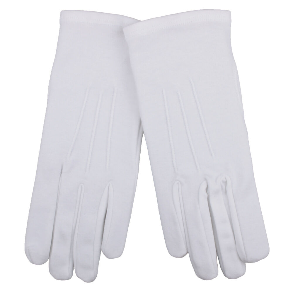 white gloves
